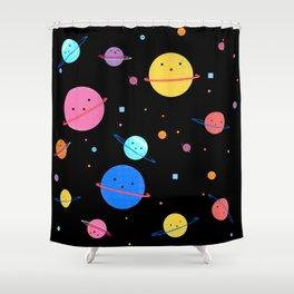 Hula Universe Shower Curtain