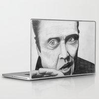 christopher walken Laptop & iPad Skins featuring Christopher Walken by Magnus Valtias