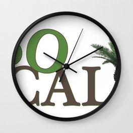 SoCali  Wall Clock