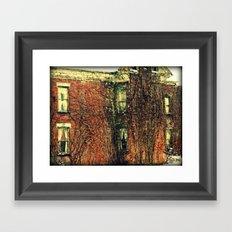 Taken Over Framed Art Print