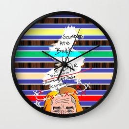 Scumbag Art Dealer Wall Clock