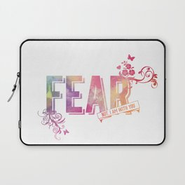 fear not, for I am with you Laptop Sleeve