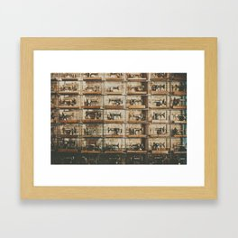 Wall 1 Framed Art Print