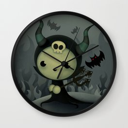 Malefica Wall Clock