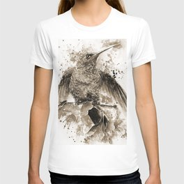 Just about to Fly in Sepia T-shirt