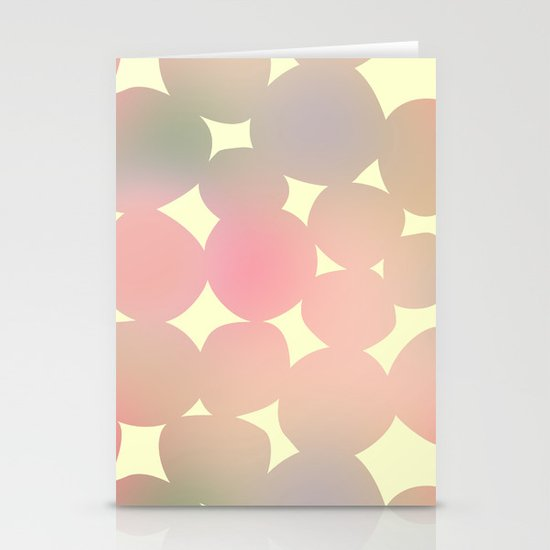 ombre pebbles Stationery Cards