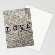 Vintage LOVE Stationery Cards