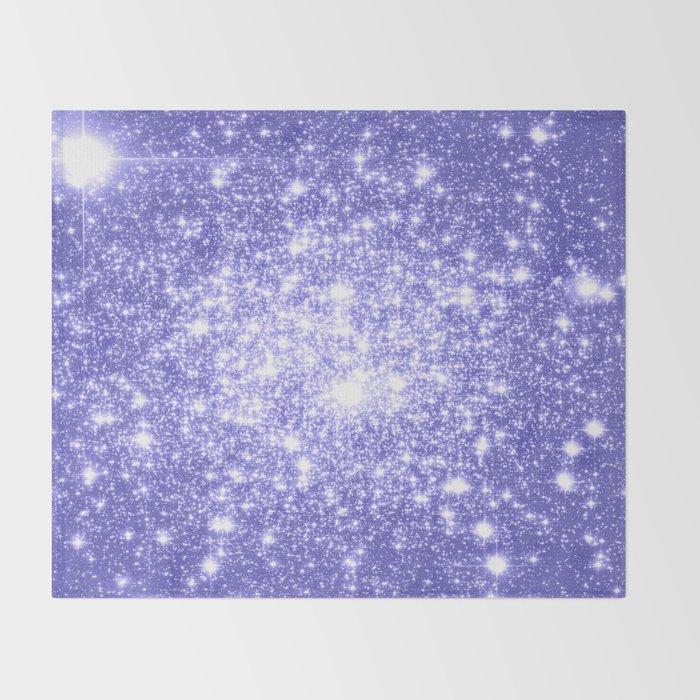 Lavender Periwinkle Sparkle Stars Throw Blanket By Lilkiddies Society40 Enchanting Periwinkle Throw Blanket