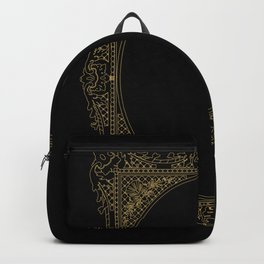 Gold Frame Backpack
