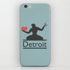 The Spirit of Detroit iPhone & iPod Skin