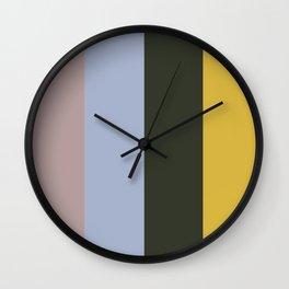 Color Ensemble No. 9 Wall Clock