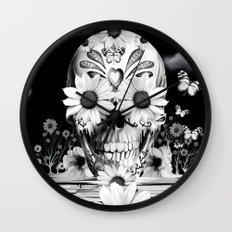 Dreaming of daisies Wall Clock