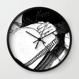 asc 488 - Les mains chaudes (Until his hands burn) Wall Clock