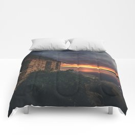 New Mexico Lake Sunset Comforters