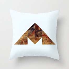 COAL MOUNTAIN Throw Pillow