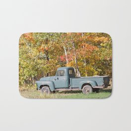Vintage Pick-up Truck 1 Bath Mat