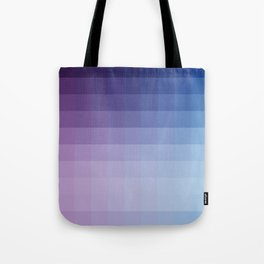 Lumen, Blue and Purple Glow Tote Bag