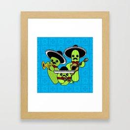 Los Nopalitos Framed Art Print