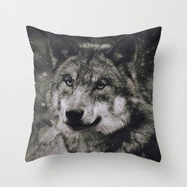 Wolf II Throw Pillow