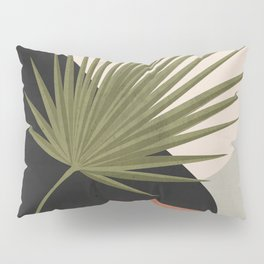 Tropical Leaf- Abstract Art 5 Pillow Sham