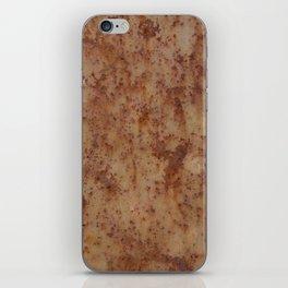rusty metal iPhone Skin