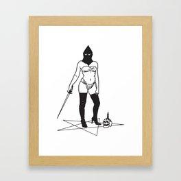 Kneel.. Framed Art Print