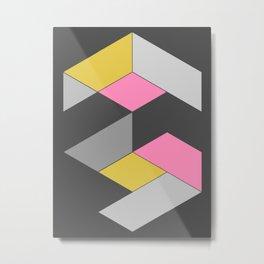 A_Minimal 001 Metal Print