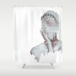 Santa Monica Dream Shower Curtain