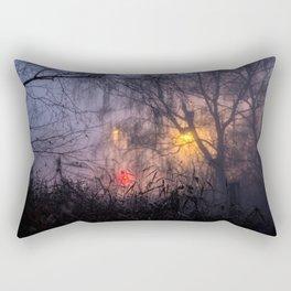 Fogs and Lights Rectangular Pillow