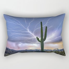 The Deluxe Arizona Monsoon Package Rectangular Pillow