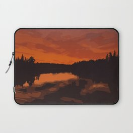 Nopiming Provincial Park Poster Laptop Sleeve