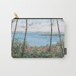 Peaceful Harbor Springs Carry-All Pouch