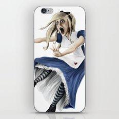 Falling Alice iPhone & iPod Skin