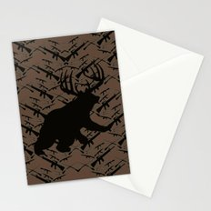 Bear with Buck Horns Stationery Cards