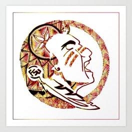 FSU Seminoles Art Print