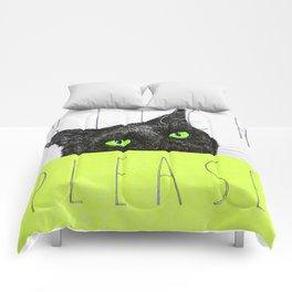 BITCH PLEASE Comforters