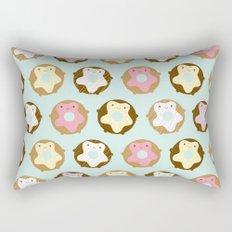 Kawaii Donuts Rectangular Pillow