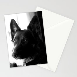 Mad Dog Longs for the Outdoors Stationery Cards