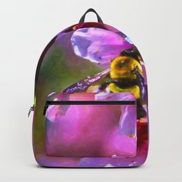 Vibrant Bee Backpack