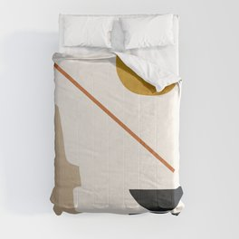 abstract minimal 6 Comforters