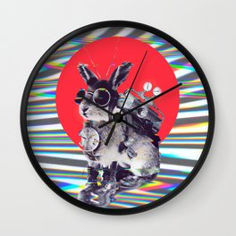 Time Traveller Wall Clock