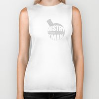 chemistry Biker Tanks featuring Chemistry by 5eth