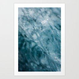 ICECAVE Art Print