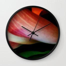 Faded Kayla Lily Wall Clock