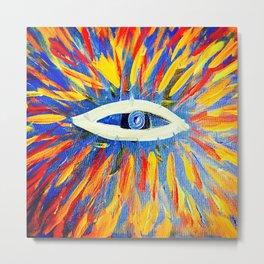 The Thrid Eye Metal Print