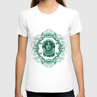 haunted mansion T-shirts featuring Haunted Mansion - In Regions Beyond Now by Joel Dickinson
