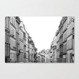 Street in Paris Canvas Print