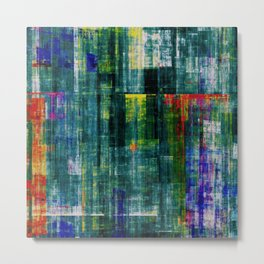 Abstract Composition 477 Metal Print