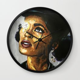Naturally Janelle Wall Clock