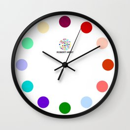 Robert Hirst Spot Clock 14 Wall Clock